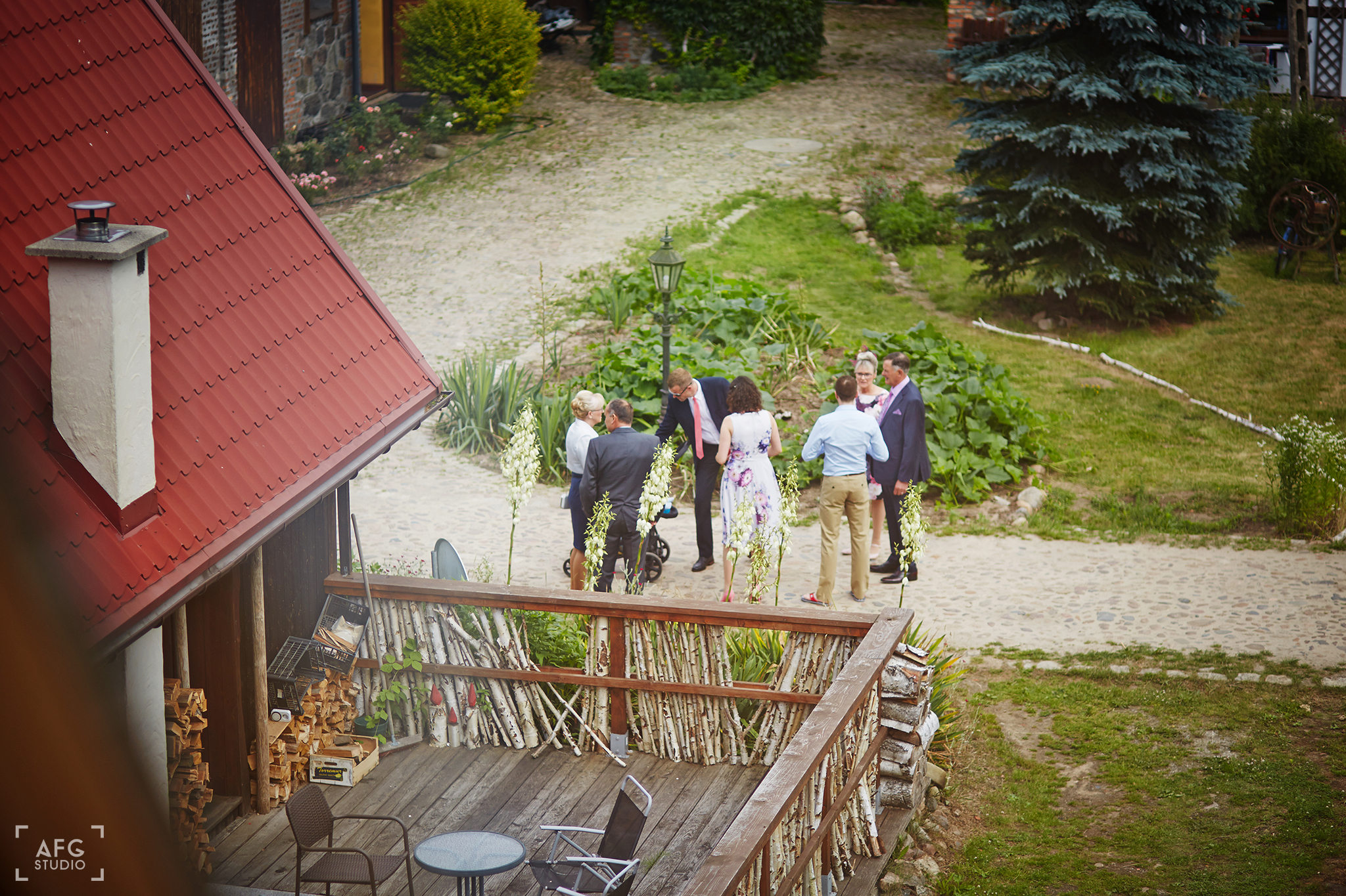 folwark, wesele, para młoda