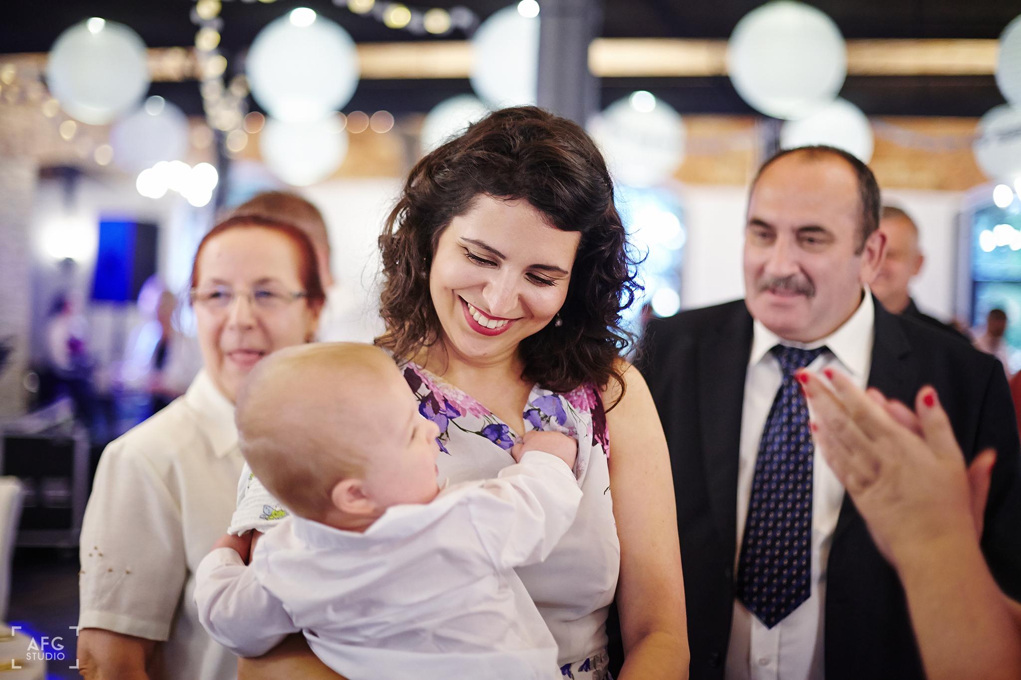 dziecko, matka, wesele