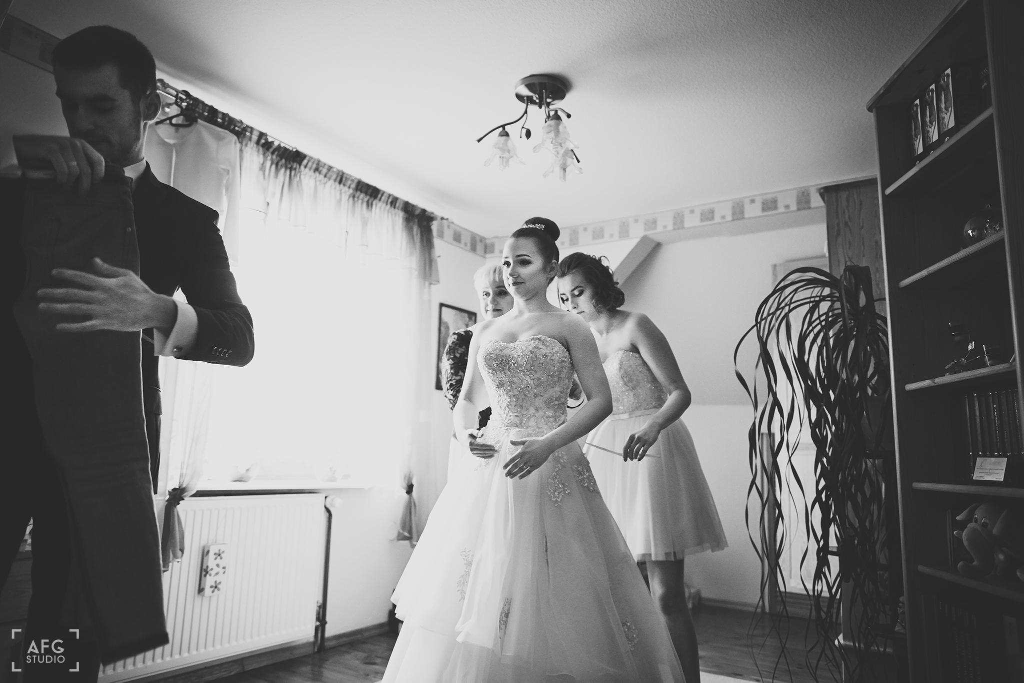 suknia ślubna, Pani Młoda