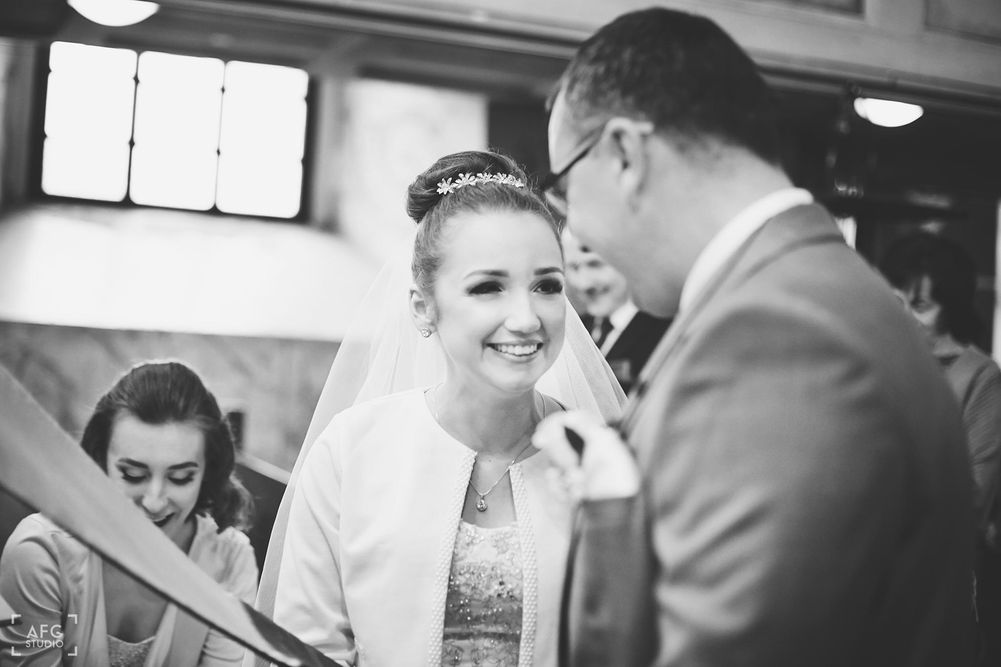 przysięga ślubna, radość, Pani Młoda