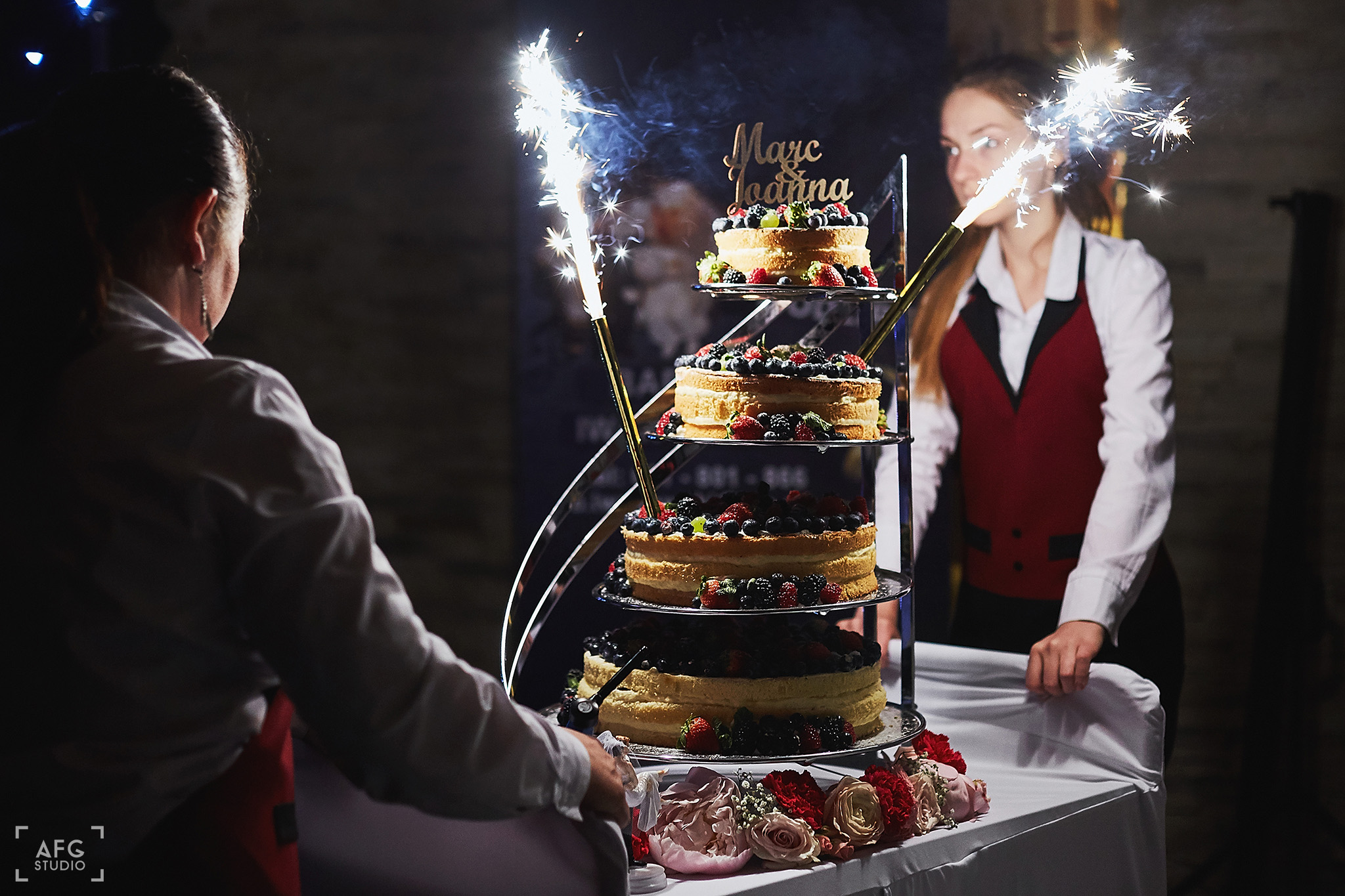 tort ślubny, para młoda, wesele