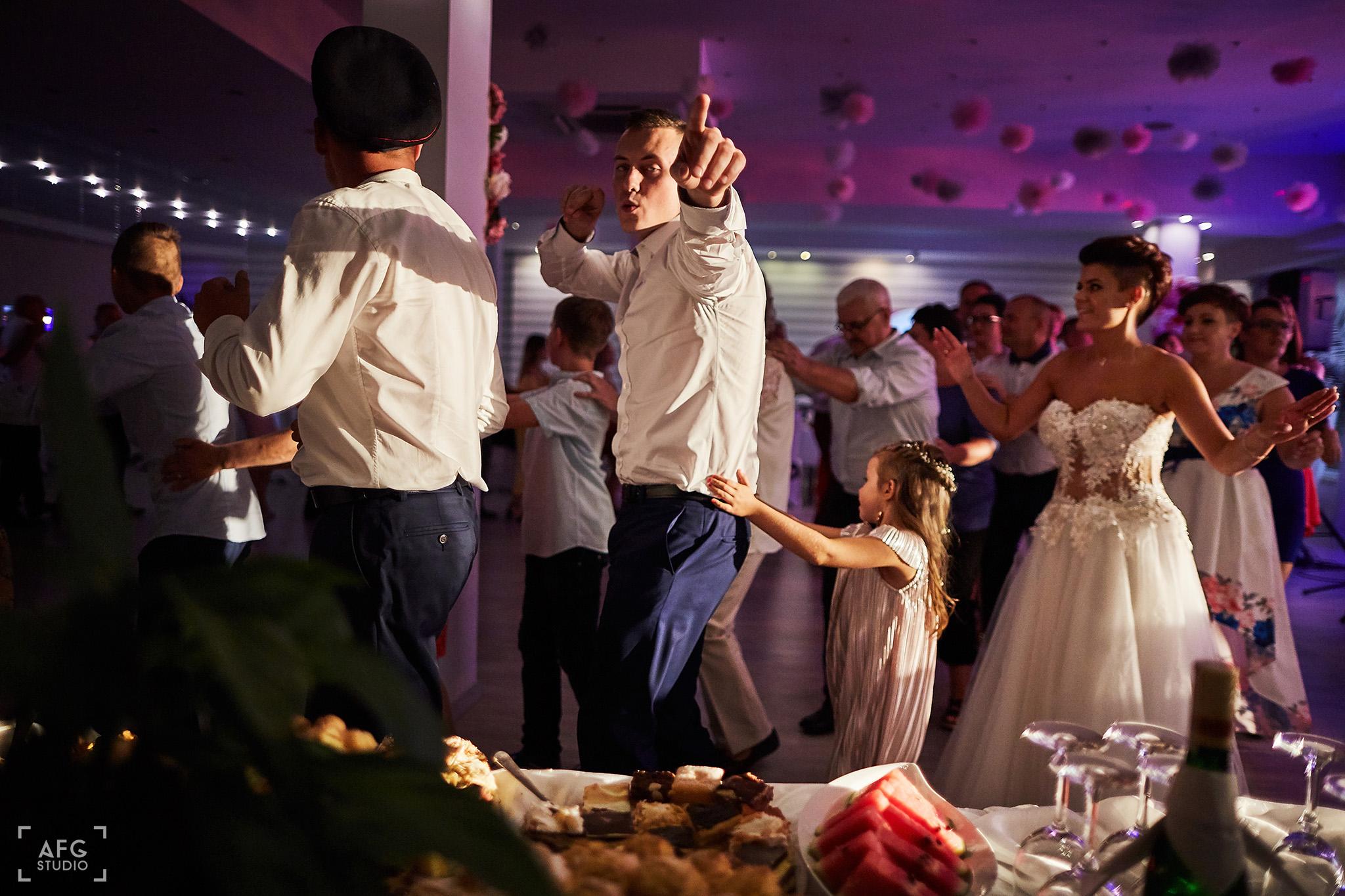 wesele, goście, zabawa