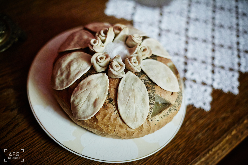 chleb, wesele, Para Młoda