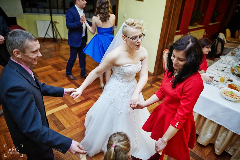 Welon, suknia ślubna, kobieta