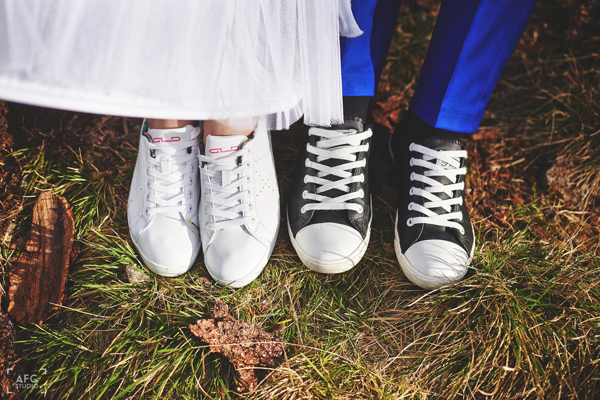buty, suknie ślubna, sukienka