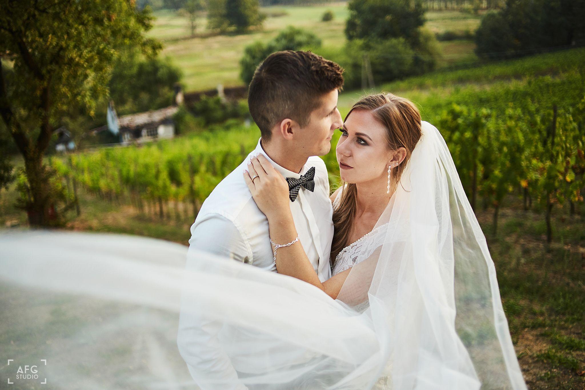 miłość, suknia ślubna, welon