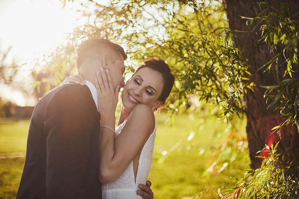 sesja w dniu ślubu, para młoda