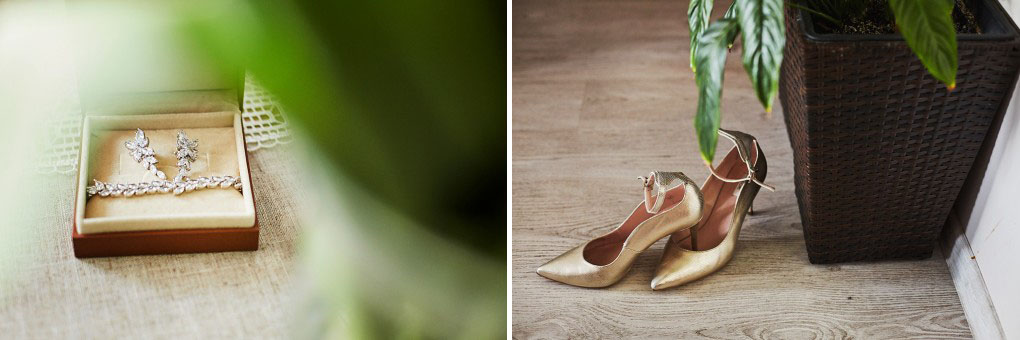 buty ślubne, kwiat