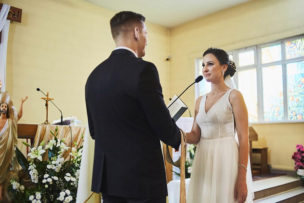 panna młoda, przysięga małżeńska