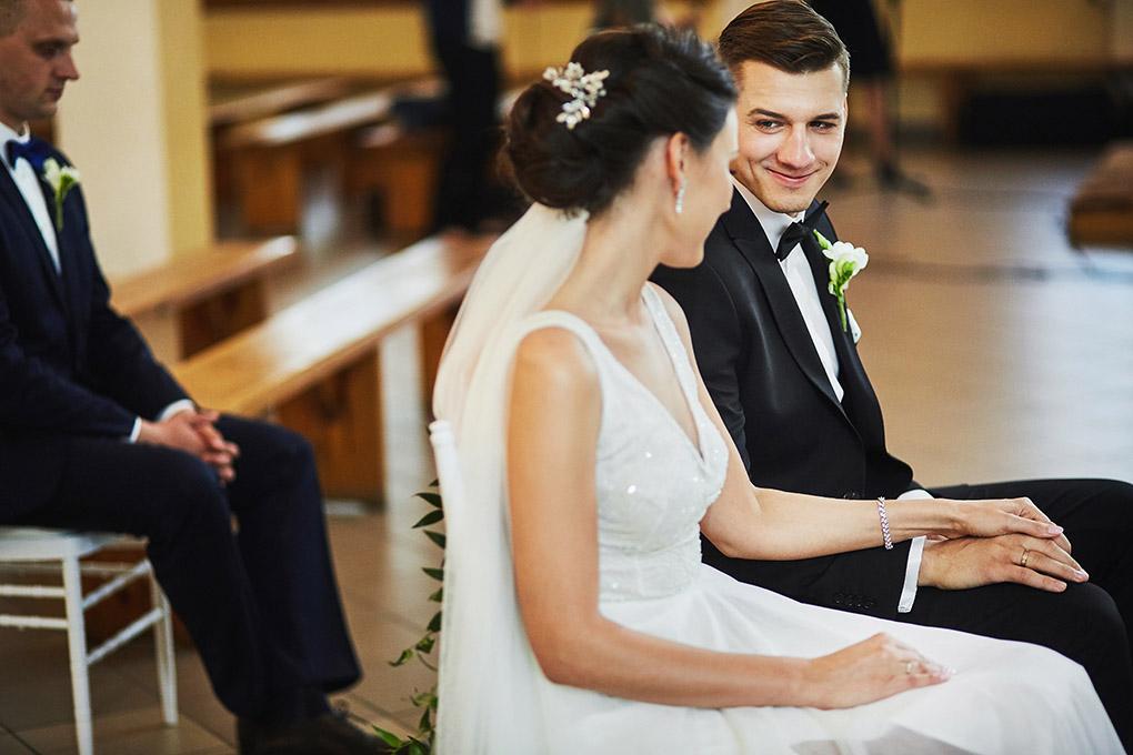 pan młody, garnitur ślubny