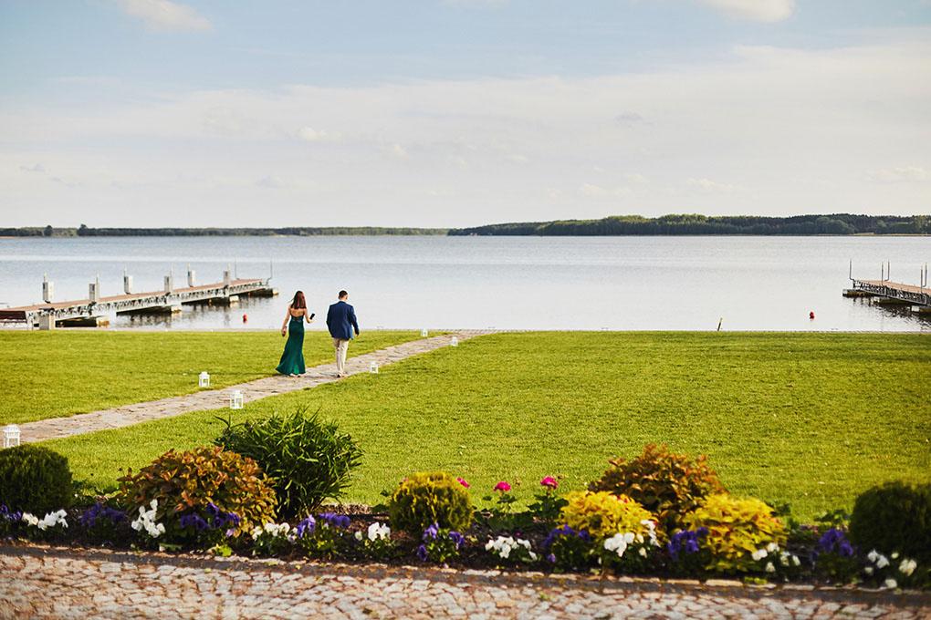 Jezioro Błędno, goście weselni