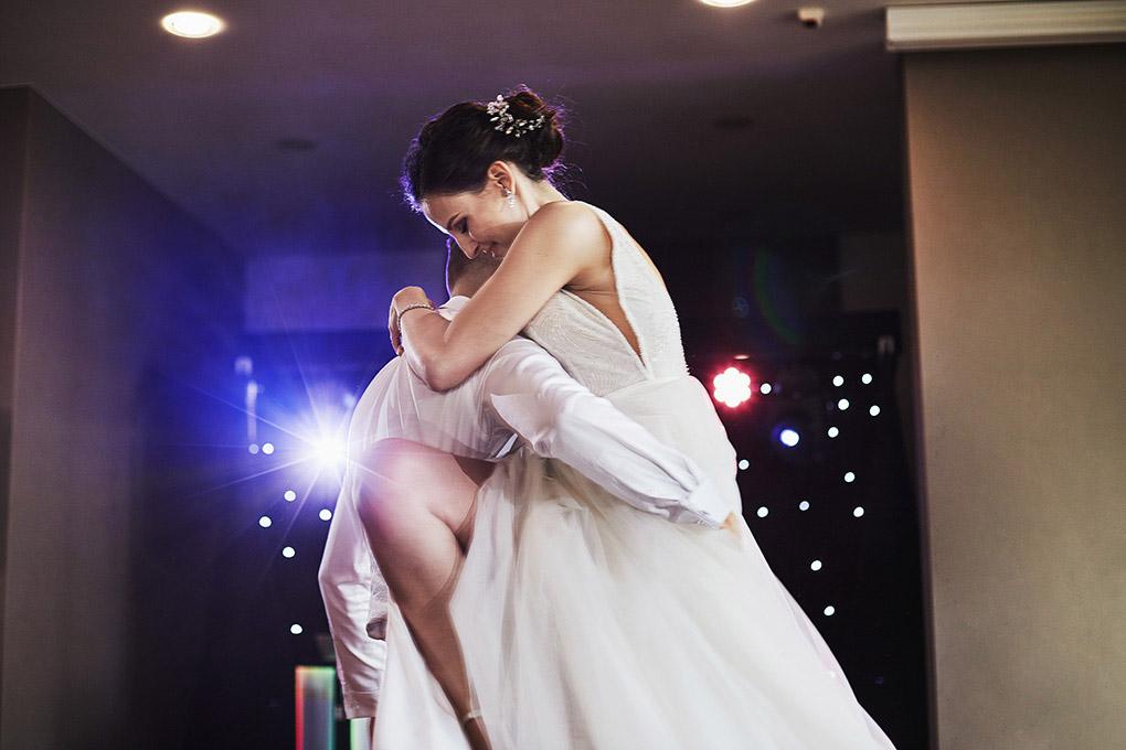 pierwszy taniec, suknia ślubna