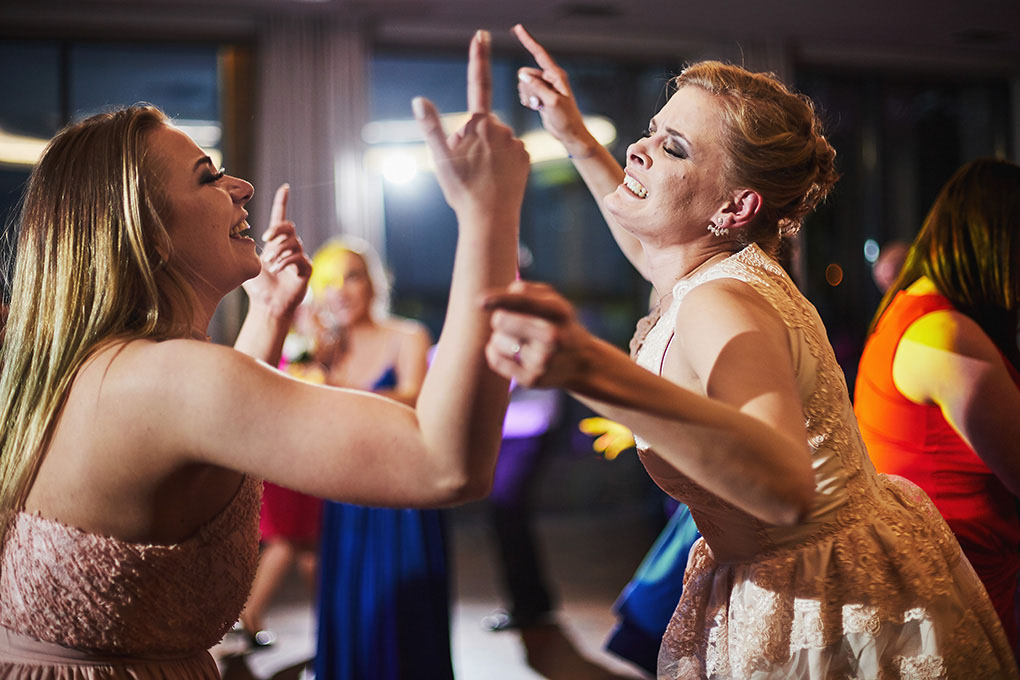 taniec, zabawa weselna